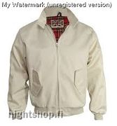 Classic Harrington Jacket Beige