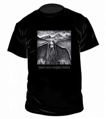 Ildjarn/Hate Forest  Those Once Mighty Fallen t-paita